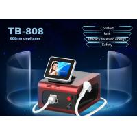 Buy cheap 1800W Germany Epilation Portable Type 808nm Diodes Laser Permanent Hair Removal Machine from wholesalers
