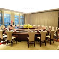 Buy cheap Big Round Luxury Commercial Restaurant Furniture With Contemporary Dining Chairs from wholesalers