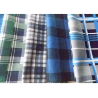 Buy cheap Cotton Soft 40*42 Density Check Flannelette Fabric from wholesalers