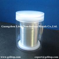 Buy cheap 99.995% indium wire product