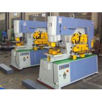 Buy cheap Multi Function Hydraulic Ironworker 900KN Cuttign Angle Steel from wholesalers