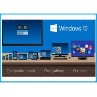 Buy cheap 32 / 64 Bit DVD Windows 10 Pro System Builder Sp1 OEM Pack Five Language from wholesalers