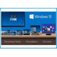 32 / 64 Bit DVD Windows 10 Pro System Builder Sp1 OEM Pack Five Language