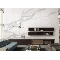 Buy cheap 6mm 2800x1600mm White Marquina Sintered Stone Slabs product