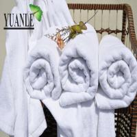 Buy cheap home hotel use 100% cotton embroideried terry bath towels from wholesalers