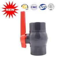 Buy cheap National Standard Black Plastic Water Line Pipe Fittings Water Supply Ball Valve from wholesalers