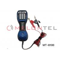 Buy cheap TS52 Pro Telephone Test Set with LCD , Lineman butt testing set from wholesalers