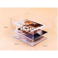 Buy cheap Customized clear acrylic magazine organizer from wholesalers