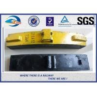 Buy cheap Train And Wagon Heavy Duty Railway Brake Blocks cast irom brake shoe from wholesalers