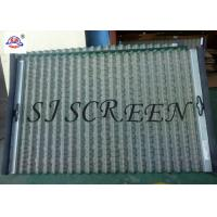 Buy cheap Hexagonal Hole Shape Shale Shaker Screen 99% Filter Rating Width 697mm Length 1053 Mm product