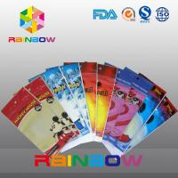 Buy cheap Self Adhesive Seal Customized Printed Opp Bags With Round Hang Hole from wholesalers