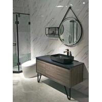 Buy cheap Black Table Modern Single Bathroom Vanity 120 Inch Basin Over The Counter product