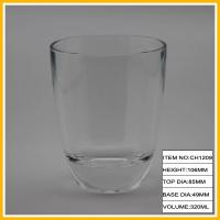 Buy cheap 11oz 320ml Simple Design Drinking Glass Cup with Heavy Base from wholesalers