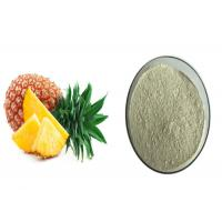 Buy cheap ISO Certified Pineapple Extract Powder Improving Immunity For Heath Products from wholesalers