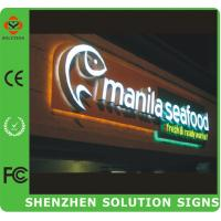Buy cheap Double Side Acrylic Plastic Light Sign from wholesalers