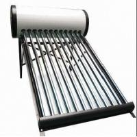 Buy cheap Non-pressurized Solar Water Heater with 1.5 to 3kW Electric Heater from wholesalers