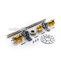 Buy cheap CNC machined Aluminum Solid Bar Go Kart Rear Axle Shaft With Kayway from wholesalers