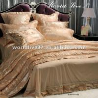 Buy cheap 9 Piece Comforter Sets,Gold Silky Soft bedding sets,Bed-in-a-bag Queen Size from wholesalers