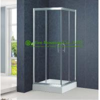 Buy cheap Shower room Aluminum Frame Square Sliding Shower Cabin Interior Glass Doors,Premium Instrument Shower Leak Free Sliding from wholesalers