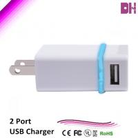 Buy cheap 2 usb port, dual usb charger for car, 5v 2.1a from wholesalers