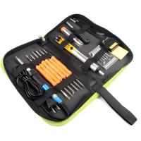 Buy cheap 60W Soldering Iron Kit Adjustable Temperature 200V~230V Green K014 from wholesalers