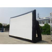 Buy cheap Giant Durable Airblown Inflatable Movie Screen 0.6 Mm PVC Tarpaulin from wholesalers