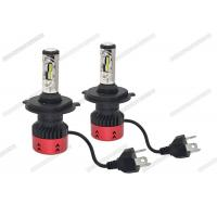 Anti Glare 4800LM 6500K LED Headlight / H4 LED Headlight Bulb For Automotive