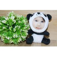 Buy cheap Novelty Photo Mask toys Stuffed Plush gift 3D Face Doll 10CM Panda from wholesalers