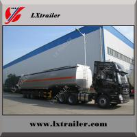 Buy cheap Shandong Liangxiang Tri-axle fuel Diesel tanker trailer from wholesalers