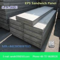 Buy cheap Interior wall paneling eps composite sandwich wall panel with size 2440*610mm from wholesalers