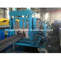 Buy cheap 3 Roller Z Purlin Roll Forming Machine For Large Warehouse 2 - 3mm Thickness from wholesalers