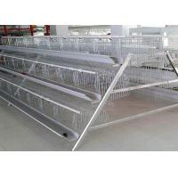 Buy cheap Durable Layer Poultry Farming Equipment High Rearing Efficiency Easy Operation from wholesalers