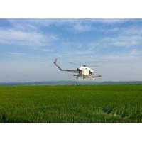 Buy cheap Precision Drone Agriculture / Flybarless Gas Powered RC Helicopter 5-6 Meters Spraying Width from wholesalers