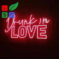 Buy cheap LED Neon Light Signs Custom Clear Acrylic Backing Wedding Event from wholesalers