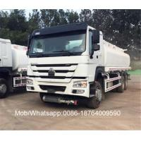 Buy cheap HOWO 20000 liter 9.726L Engine Capacity Liquid Tanker Truck 6x4 , Oil Tank Petrol Gasoline Truck from wholesalers