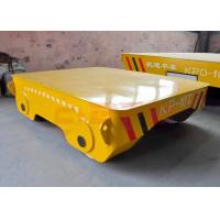 Buy cheap Motorless 25t forklift towed rail transfer cart on turning rails from wholesalers
