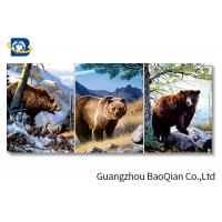 Buy cheap 3d Ocean Animal Pictures With Black Frame , 30*40 CM Size 3d Flipped Printing from wholesalers