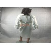 Buy cheap Personalized Silk  Luxury Hotel Bathrobes Robes With two pocket from wholesalers