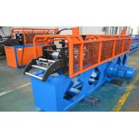 Buy cheap Cassette Top Hat Purlin Roll forming Machine 11 Forming station 12-15m/min line speed Size Quick change from wholesalers