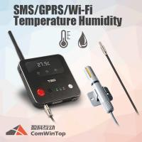 Buy cheap Red LED Light 3G Temperature Alarm Gsm , Touch Key Humidity Gsm Remote Monitoring product