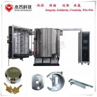 Buy cheap Ion Metallization Pvd Vacuum Thin Film Coating Machine Multi Arc For Door Lock from wholesalers