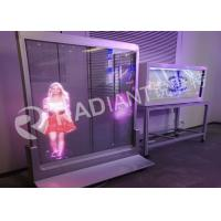 Buy cheap Best quality new video wall see through P3.9 high brightness indoor transparent led advertising board for shop from wholesalers