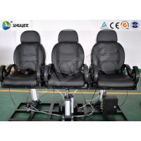 Buy cheap Indoor Entertainment 5D Theater System 6 - 12 Person With Metal Flat Screen product