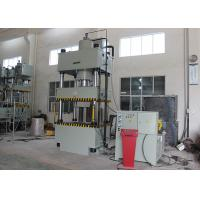 Buy cheap Four Station Multi Hole C Frame Hydraulic Press Machine 315 T For Steel Shelves from wholesalers