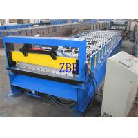 Buy cheap High Speed Double Layer Wall Panel Roll Forming Machine 8-10 M / Min product