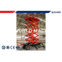 Buy cheap Self-propelled Scissor Hydraulic platform Lifts aluminum window cleaning lift 300 - 1000kg from wholesalers