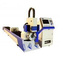 Buy cheap steel tube cnc fiber laser cutting machine affordable for sale from wholesalers