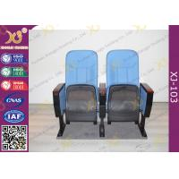 Buy cheap Fabric Padder Prayer Seat Stacking Church Hall Chairs With Tablet And Book Rack from wholesalers