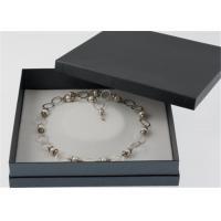 Buy cheap Brcacelet Packaging Paper Jewelry Box Elegant Style Luxury Waterproof Velvet product