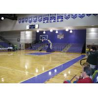 Buy cheap Durable Indoor Basketball Court Wood Flooring Sound Absorption from wholesalers